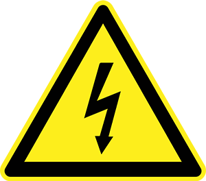 Warning! Electricity can be dangerous