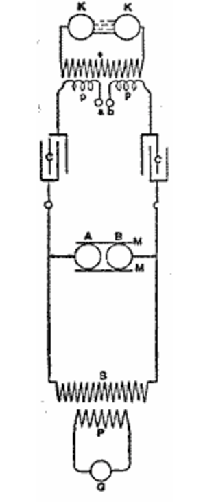 Air quenched spark gap circuit