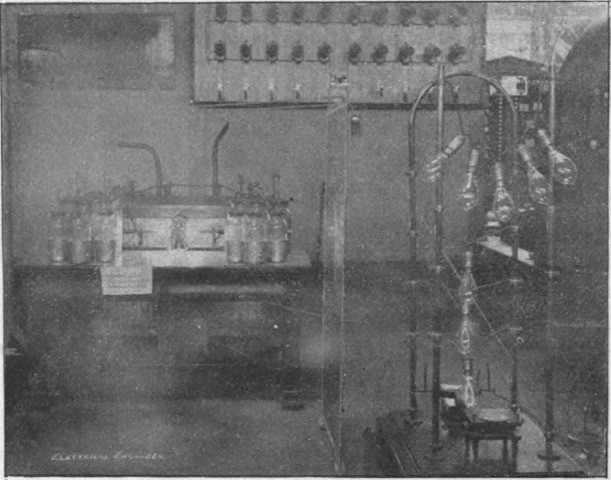 Nikola Tesla Chicago World Fair 1893 Hairpin Circuit