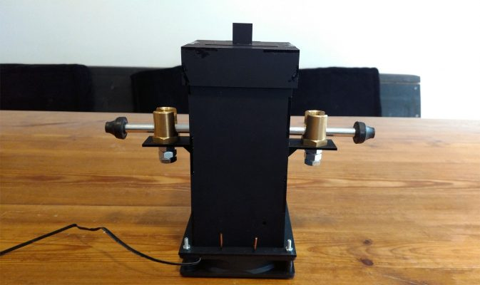 Tesla air quenched spark gap replication