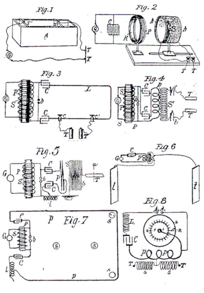 Tesla high frequency oscillators for electro-therapy hairpin circuit