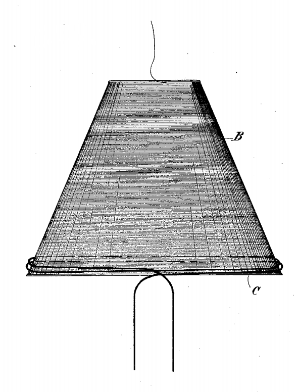 Conical Tesla Coil from 1897 patent