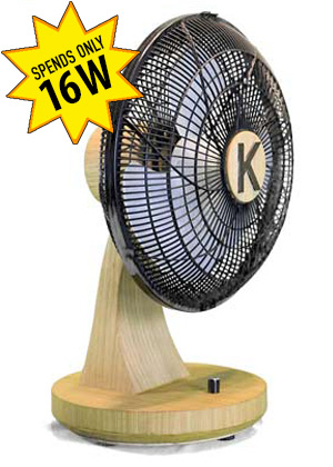 Keppe motor table fan