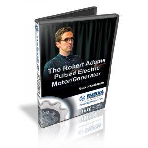 Presentation Robert Adams Motor Generator ESTC 2021